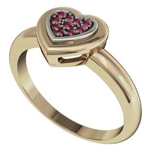 Кольцо из желтого золота 585 пробы