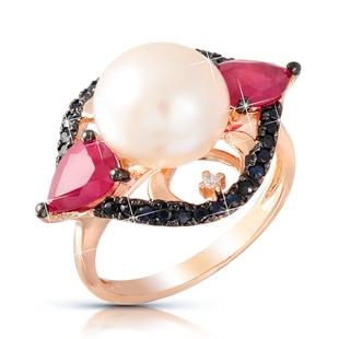 Кольцо с бриллиантами - MIX